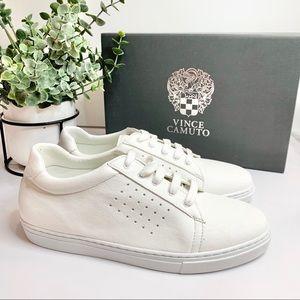 Vince Camuto Big Boys' GRAFTE Sneaker White, 4.5 M
